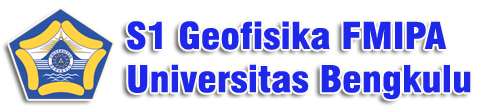 S1 Geofisika FMIPA UNIB